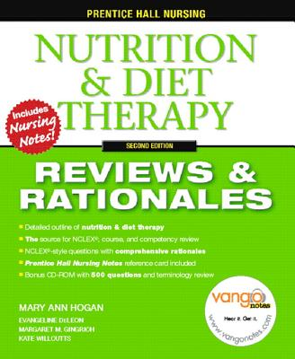 Nutrition & Diet Therapy By Hogan, Mary Ann (EDT)/ Deleon, Evangeline (EDT)/ Gingrich, Margaret M. (EDT)/ Willcutts, Kate (EDT)